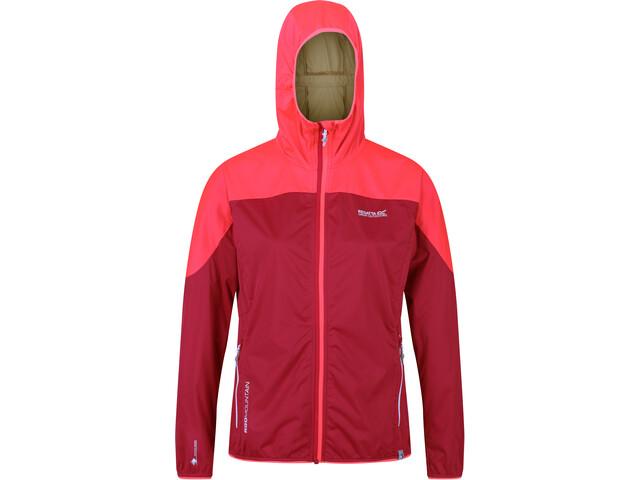 Regatta Tarvos III Soft Shell Jacket Women dark cerise/neon pink